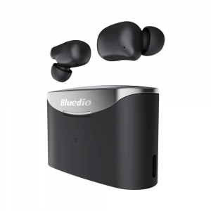 Casti in-ear Bluedio T-Elf 2 TWS cu cutie de incarcare de 650mAh, Touch control, Bluetooth 5.0, Waterproof IPX62