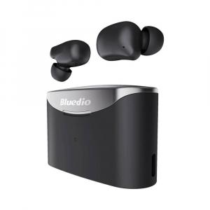 Casti in-ear Bluedio T-Elf 2 TWS cu cutie de incarcare de 650mAh, Touch control, Bluetooth 5.0, Watreproof IPX62