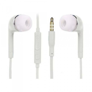 Casti in-ear, tip dop, pentru telefon, albe0