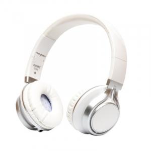 Casti over-ear cu fir KOMC S30 Alb, 108dB, Microfon pe fir0