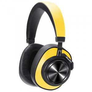 Casti Wireless Bluedio T7 Stereo, Bass Hi Fi, Anularea zgomotelor, USB Tip C, Bluetooth, Microfon, Handsfree, Control Volum4