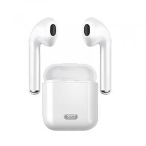 Casti wireless semi-in-ear XO F10, Microfon, Bluetooth, Handsfree, Stand de incarcare, Cititor de smsuri, Indicator baterie0