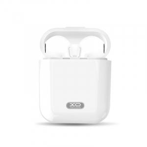 Casti wireless semi-in-ear XO F10, Microfon, Bluetooth, Handsfree, Stand de incarcare, Cititor de smsuri, Indicator baterie2