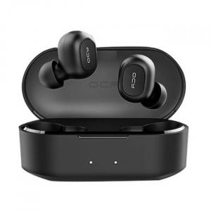Casti Wireless QCY T1S TWS, HiFi, DSP, Bluetooth 5.0, Binaural, IPX4, Cutie incarcare de 800mAh1