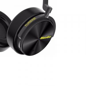 Casti Wireless Stereo Bluedio T5, Anularea zgomotelor, Tip C, Bluetooth, Microfon, Extra Bass5