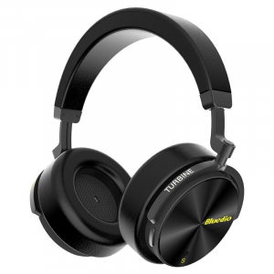 Casti Wireless Stereo Bluedio T5S, Anularea zgomotelor, Tip C, Bluetooth, Microfon, Extra Bass, Senzor Infrarosu [0]