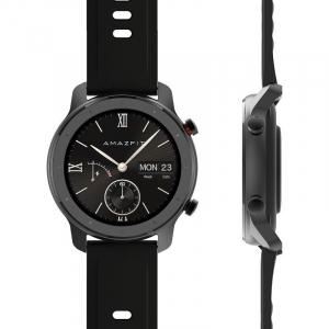 Smartwatch Xiaomi Huami Amazfit GTR, 1.2 inch, 42 mm, Amoled, GPS, 5ATM Waterproof, Bluetooth 5.0, 195 mAh, Global, Negru1