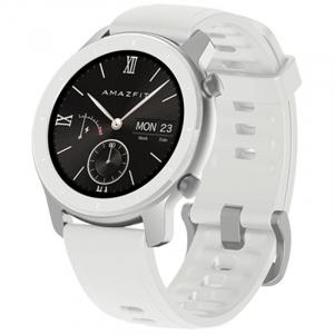 Smartwatch Xiaomi Huami Amazfit GTR Alb Resigilat, 1.2 inch, 42 mm, Amoled, GPS, 5ATM Waterproof, Bluetooth 5.0, 195 mAh, Global0