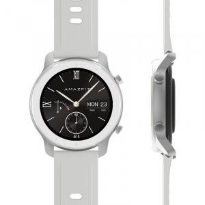 Smartwatch Xiaomi Huami Amazfit GTR Alb Resigilat, 1.2 inch, 42 mm, Amoled, GPS, 5ATM Waterproof, Bluetooth 5.0, 195 mAh, Global1
