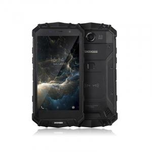 "Telefon mobil Doogee S60 Lite 4G, Android 7, 4GB RAM 32GB ROM, OctaCore, 5.2"", Incarcare wireless, Waterproof, DualSim, Negru, Resigilat0"