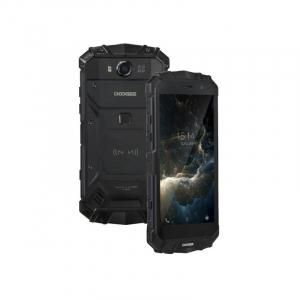 "Telefon mobil Doogee S60 Lite 4G, Android 7, 4GB RAM 32GB ROM, OctaCore, 5.2"", Incarcare wireless, Waterproof, DualSim, Negru, Resigilat1"