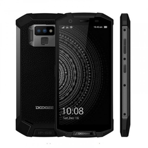 Telefon mobil Doogee S70, 4G, Incarcare wireless, Waterproof IP68, 6GB RAM 64GB ROM, 5.99inch, Android 8.1, Amprenta, DualSim6