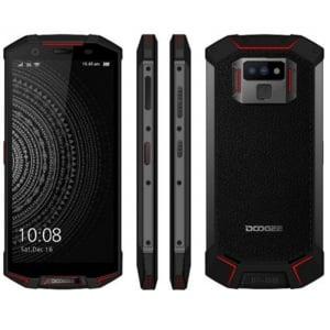 Telefon mobil Doogee S70, 4G, Incarcare wireless, Waterproof IP68, 6GB RAM 64GB ROM, 5.99inch, Android 8.1, Amprenta, DualSim9