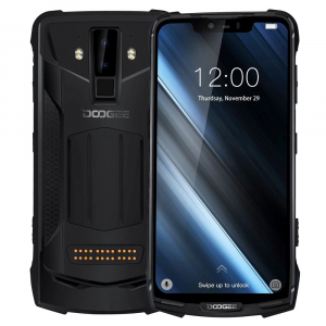 Pachet telefon mobil + 3 module Doogee S90C Super, IPS 6.18inch, 4GB RAM, 64GB ROM, Android 9.0, Helio-P70 Octa Core, 5050mAh3