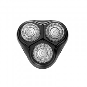 Aparat de ras electric portabil Xiaomi Enchen BlackStone Negru, 3 lame rotative, 3 capete pivotante 3D, Auto-ascutire, Trimmer, Cap lavabil1