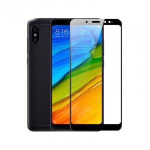 Folie de protectie din sticla pentru Xiaomi Redmi Note 5 - Full Face Cover2