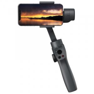 Stabilizator gimbal pe 3 axe FunSnap Capture 2, Auto face tracking, Control zoom, Time lapse, Brat extensibil, 4000mAh, Negru4