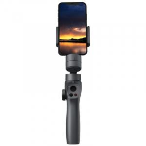Stabilizator gimbal pe 3 axe FunSnap Capture 2, Auto face tracking, Control zoom, Time lapse, Brat extensibil, 4000mAh, Negru5