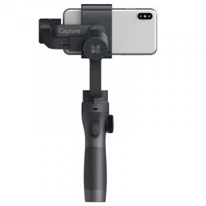 Stabilizator gimbal pe 3 axe FunSnap Capture 2, Auto face tracking, Control zoom, Time lapse, Brat extensibil, 4000mAh, Negru6