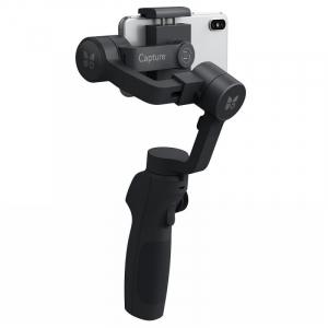 Stabilizator gimbal pe 3 axe FunSnap Capture 2, Auto face tracking, Control zoom, Time lapse, Brat extensibil, 4000mAh, Negru7