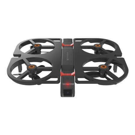 Pachet drona pliabila FunSnap iDol Negru cu 3 baterii, Motor fara perii, Camera FHD, Senzor CMOS, Memorie 8GB, GPS, Wi-Fi, 1800mAh1