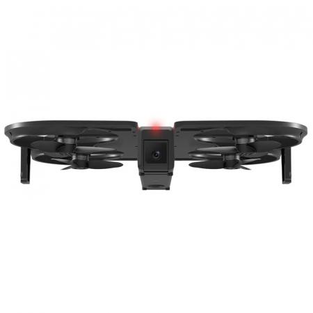 Pachet drona pliabila FunSnap iDol Negru cu 3 baterii, Motor fara perii, Camera FHD, Senzor CMOS, Memorie 8GB, GPS, Wi-Fi, 1800mAh2