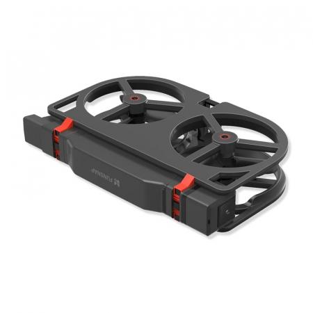 Pachet drona pliabila FunSnap iDol Negru cu 3 baterii, Motor fara perii, Camera FHD, Senzor CMOS, Memorie 8GB, GPS, Wi-Fi, 1800mAh3