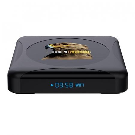 TV BoxHK1 RBOX R1 Mini Smart Media Player, 4K, RAM 4GB, ROM 32GB,Android 10.0,Rockchip RK3318 QuadCore, Slot Card, Wi-Fi dual band2