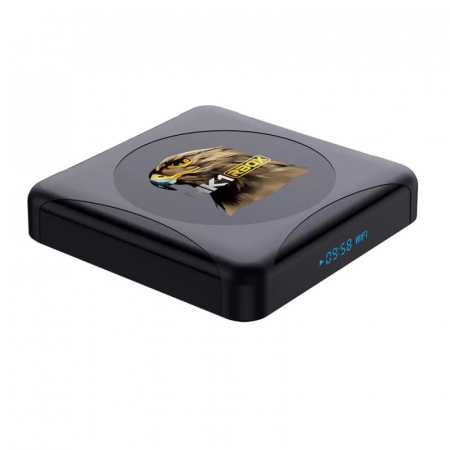 TV Box HK1 RBOX R1 Mini Smart Media Player, 4K, RAM 2GB, ROM 16GB, Android 10.0, Rockchip RK3318 QuadCore, Slot Card, Wi-Fi dual band3