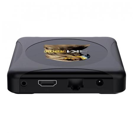 TV BoxHK1 RBOX R1 Mini Smart Media Player, 4K, RAM 4GB, ROM 32GB,Android 10.0,Rockchip RK3318 QuadCore, Slot Card, Wi-Fi dual band4