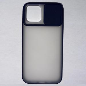 Husa din silicon cu protectie glisanta pentru lentile pentru iPhone 12 Pro Max0