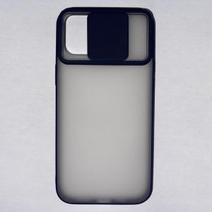 Husa din silicon cu protectie glisanta pentru lentile pentru iPhone 12 Pro Max1