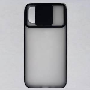 Husa din silicon cu protectie glisanta pentru lentile pentru iPhone 12 Pro Max2