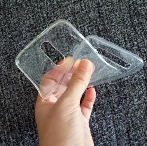 Husa din silicon transparent pentru HomTom HT17/HT17 Pro0