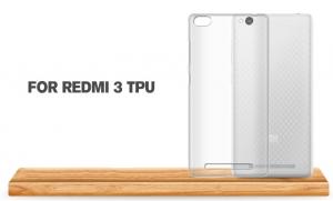Husa din silicon transparent pentru Xiaomi Redmi 32