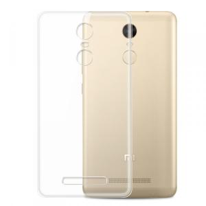 Husa din silicon transparent pentru Xiaomi Redmi Note 3/Note 3 Pro1