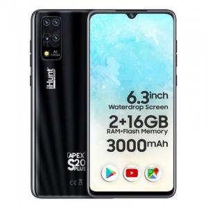 """Telefon mobil iHunt S20 Plus ApeX 2021, 3G, IPS 6.3"""", 2GB RAM, 16GB ROM, Android 9,Spreadtrum SC7731E, 3000mAh, Dual SIM, Negru0"""