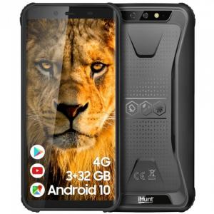 "Telefon mobil iHunt S60 Discovery Plus 2021, 4G, IPS 5.5"", 3GB RAM, 32GB ROM, Android 10,MTK6739 QuadCore, NFC, 4400mAh, Dual SIM, Negru0"