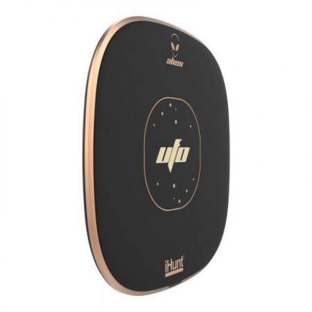 Incarcator wirelessiHunt Alien UFO cu incarcare rapida 10W, Suprafata anti-alunecare, Multiple sisteme de protectie, Portabil2