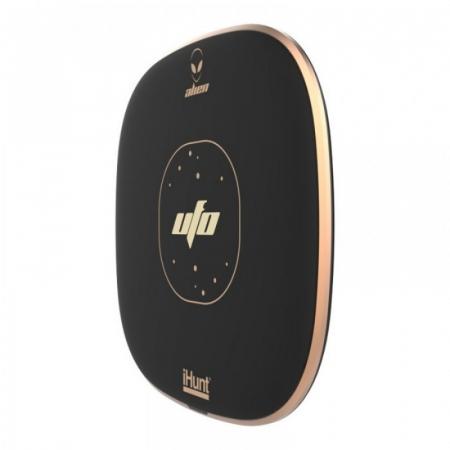 Incarcator wirelessiHunt Alien UFO cu incarcare rapida 10W, Suprafata anti-alunecare, Multiple sisteme de protectie, Portabil3