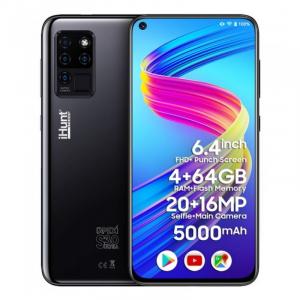 "Telefon mobil iHunt S30 Ultra ApeX 2021 Negru, 4G, 6.41"" FHD+, 4GB RAM, 64GB ROM, Android 10,Helio P60 OctaCore, Dual SIM, 5000mAh0"