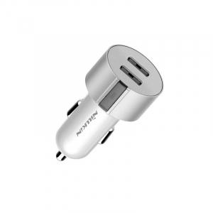 Incarcator auto Nillkin Vigor, incarcare rapida, protectie incarcare, 2 porturi USB, indicator led la incarcare12