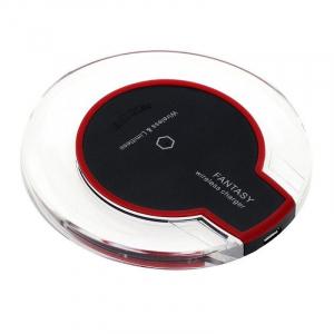 Incarcator Wireless Star Fantasy cu incarcare rapida, compatibil si cu DOOGEE