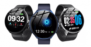 Smartwatch Kospet V12, 1.3inch, Waterproof IP67, Ritm cardiac, Monitorizare somn, Bluetooth 4.0,Fitness Tracker0