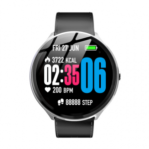 Smartwatch Kospet V12, 1.3inch, Waterproof IP67, Ritm cardiac, Monitorizare somn, Bluetooth 4.0,Fitness Tracker1