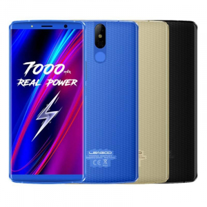 Telefon mobil Leagoo Power 5, 6GB RAM, 64GB ROM, Android 8.1, 5.99 inch, MT6763V OctaCore, 7000mAh, Incarcare Wireless0