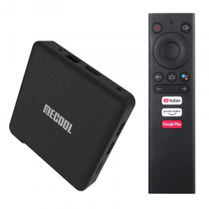 TV Box MECOOL KM1, 4K, Android 9.0, 4GB RAM, 64GB ROM, S905X3 QuadCore, USB 3.0, HDR10+, Wi-Fi 2T2R, Bluetooth, Chromecast, Slot card0