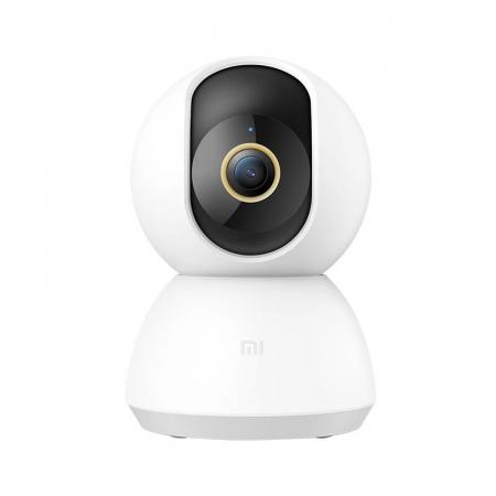 Camera de supraveghere Xiaomi Mi 360° Home Security Camera 2KAlb, 3MP, Panorama, IR, Wi-Fi,Cloud, Slot memorie, Global0