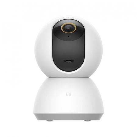 Camera de supraveghere Xiaomi Mi 360° Home Security Camera 2KAlb, 3MP, Panorama, IR, Wi-Fi,Cloud, Slot memorie, Global1