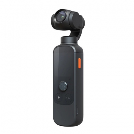 "Camera video de buzunar pentru vlogging Xiaomi Morange M1 Pro Negru, 4K 60fps, 12MP, AMOLED 1.4"", Gimbal 3 axe, Smart tracking0"